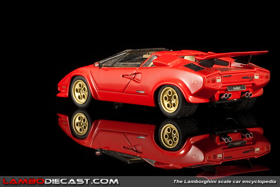 the 1 43 lamborghini countach lp400s from mr a review by. Black Bedroom Furniture Sets. Home Design Ideas