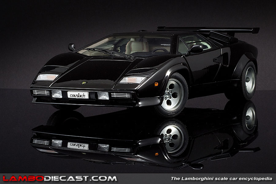 The 1 18 Lamborghini Countach Lp500s From Autoart A