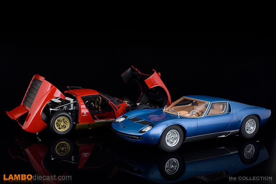 The all opening, diecast Kyosho made Miura still looks better than this new sealed Miura S