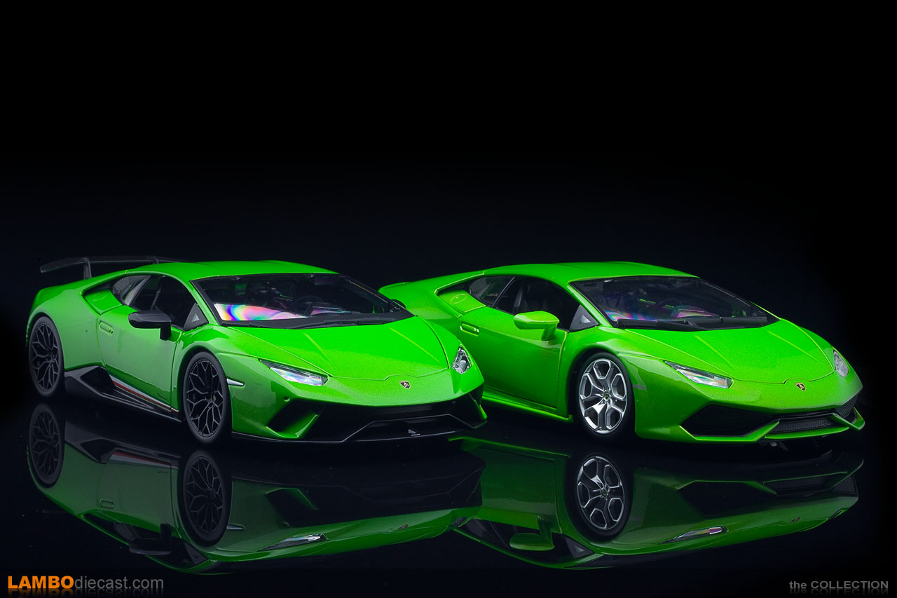 A lot of difference between the Huracan LP610-4 and the Performante