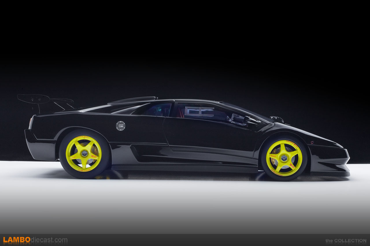 The Lamborghini Diablo SV-R is a real race car made back in 1996