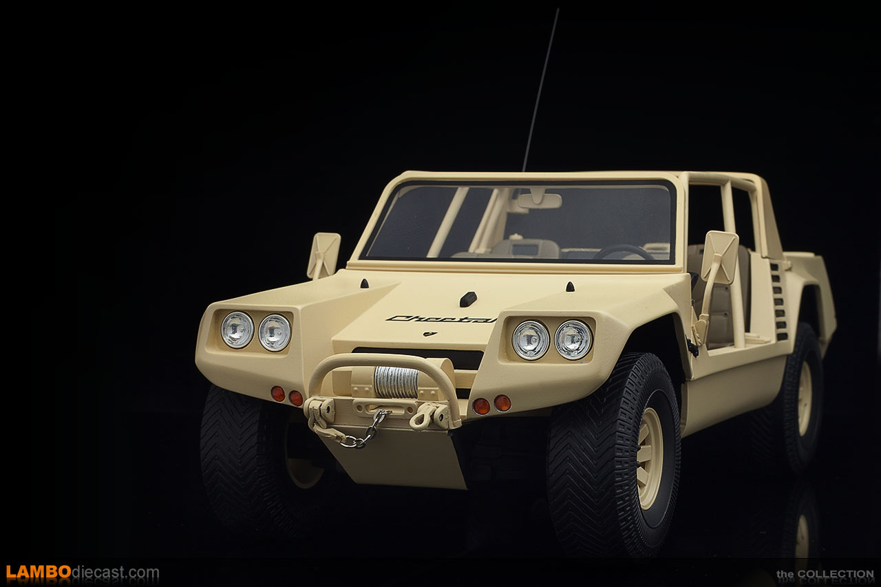 The 1/18 scale Lamborghini Cheetah made by Kyosho