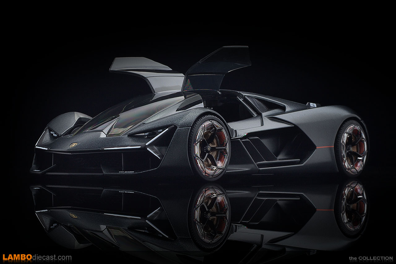 The Lamborghini Terzo Millennio is a concept for the future