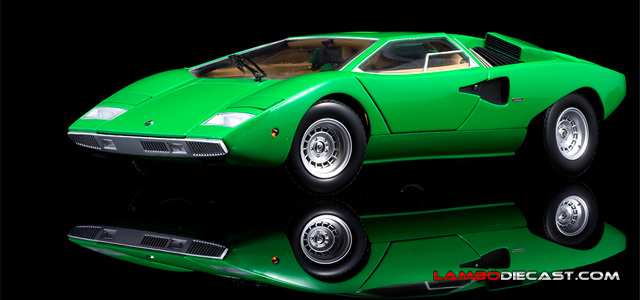 Lamborghini Countach Production prototype by Kyosho
