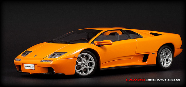 the 1 18 lamborghini diablo vt 6 0 from autoart a review by. Black Bedroom Furniture Sets. Home Design Ideas