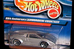 Lamborghini Countach 25th Anniversary by Hotwheels