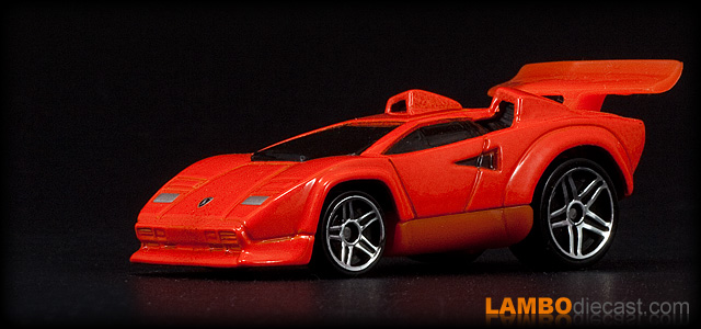 Lamborghini Countach LP500S by Hotwheels