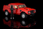 The Lamborghini LM002 is very big, 185cm tall in fact.