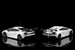 Showing the differences between the LP600 GT3 and the GT3 FL2