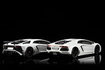 Rear view of the Avenador LP700-4 and LP750-4 Superveloce