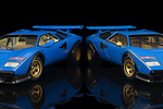 A look at the difference between the two Countach WW releases Kyosho made