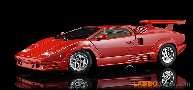 Lamborghini Countach 25th Anniversary by AUTOart