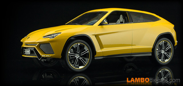 Lamborghini Urus Concept by Model Car Group