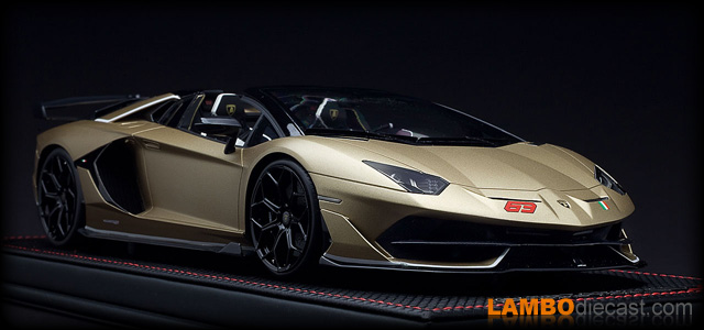 Lamborghini Aventador SVJ Roadster by MR