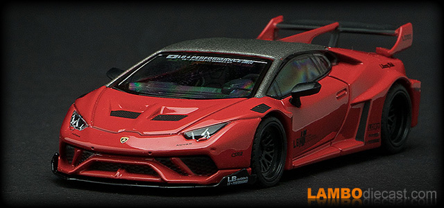 Lamborghini Huracan LB-Works by Mini GT TSM