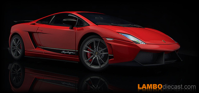 Lamborghini Gallardo LP570-4 Superleggera by AUTOart