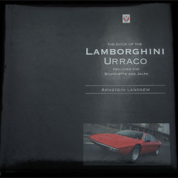 The book of the Lamborghini Urraco by Arnstein Landsem