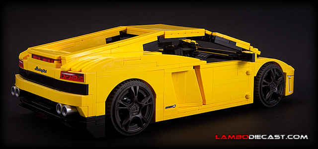 Lamborghini Gallardo LP560-4 by Lego