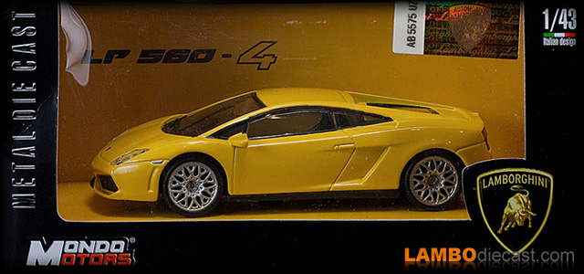 Lamborghini Gallardo lp560-4 by Mondo Motors
