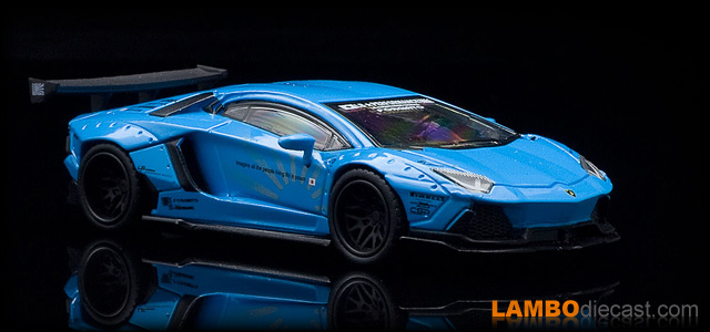 Lamborghini Aventador LB-Works by Mini GT TSM