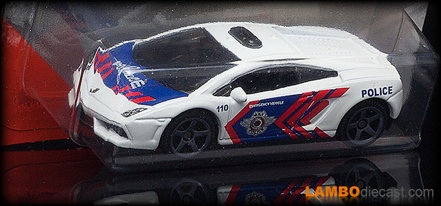 Lamborghini Gallardo LP560-4 Polizia by Matchbox